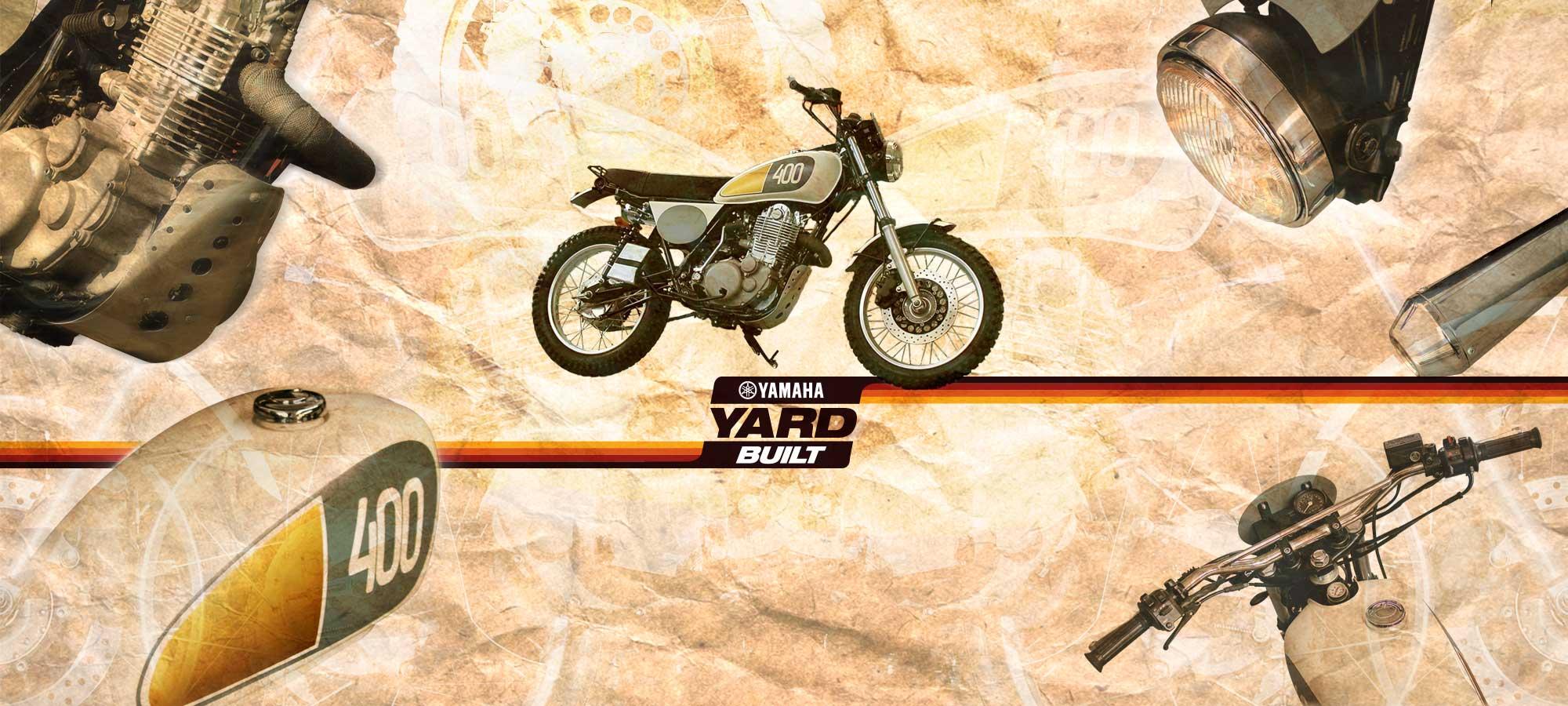 Préparation café racer Yamaha SR 400 Yard built YAMAHA