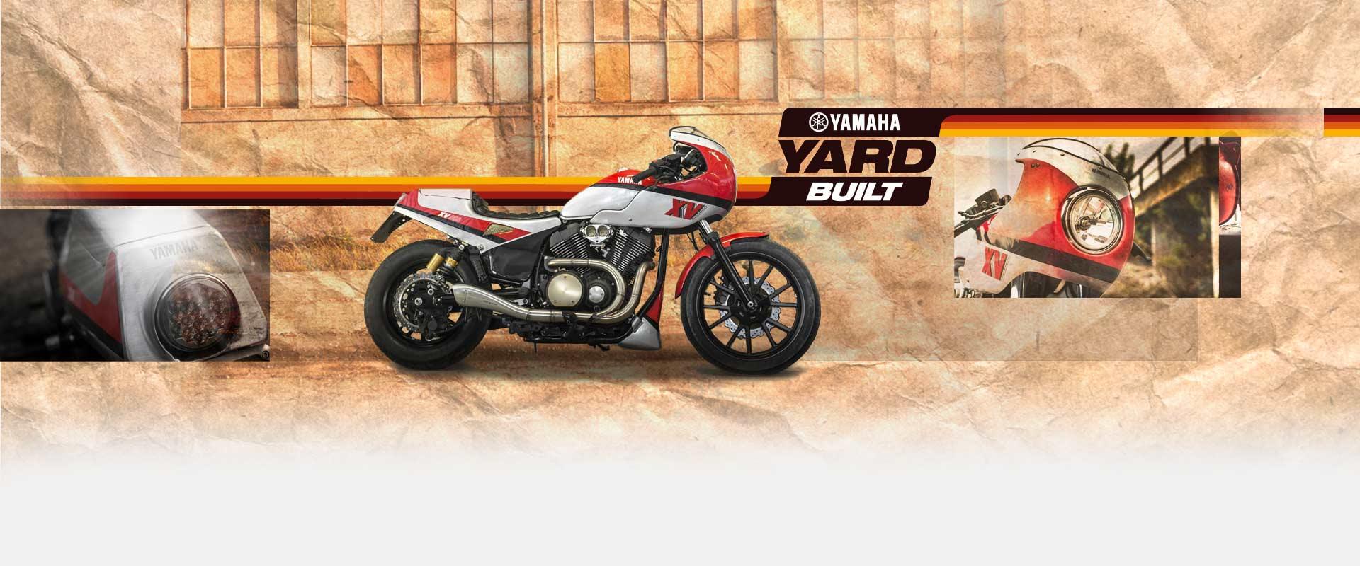 Préparation Yamaha XV 950 BOLT Yard built Yamaha