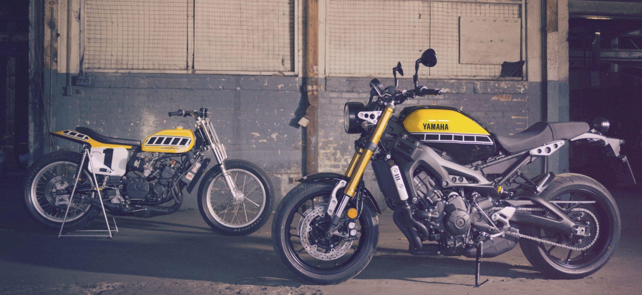 XSR 900 Gamme Yamaha FEEL
