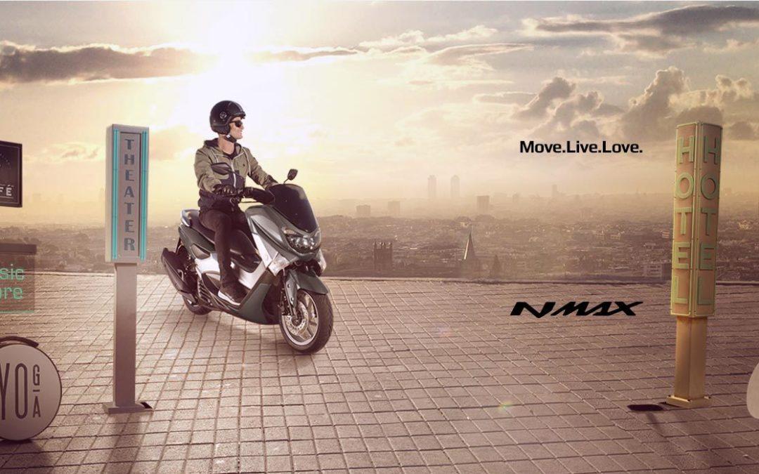 N-MAX 125 2017 Gamme Yamaha MOVE