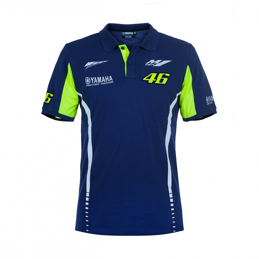 POLO ROSSI 2017 HOMME Vetements ROSSI VR 46 Officiel Yamaha