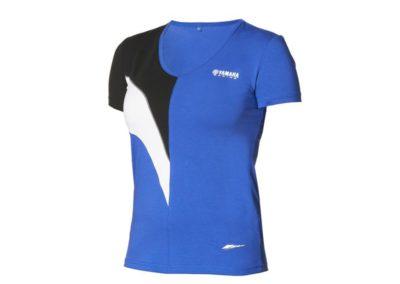 t-shirt yamaha bleu femme-Collection YAMAHA PADDOCK