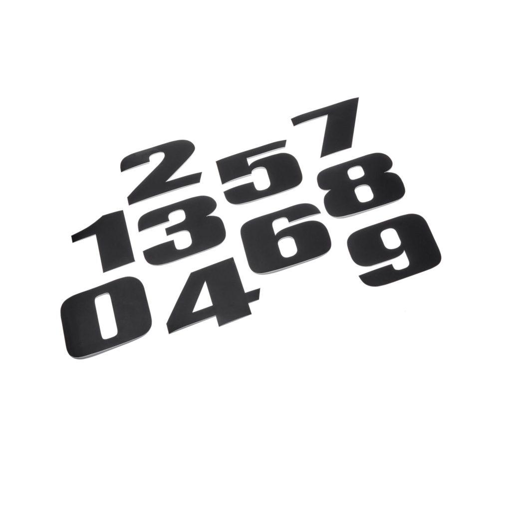 KIT NUMEROS AUTOCOLLANTS YAMAHA XV 950 BOLT
