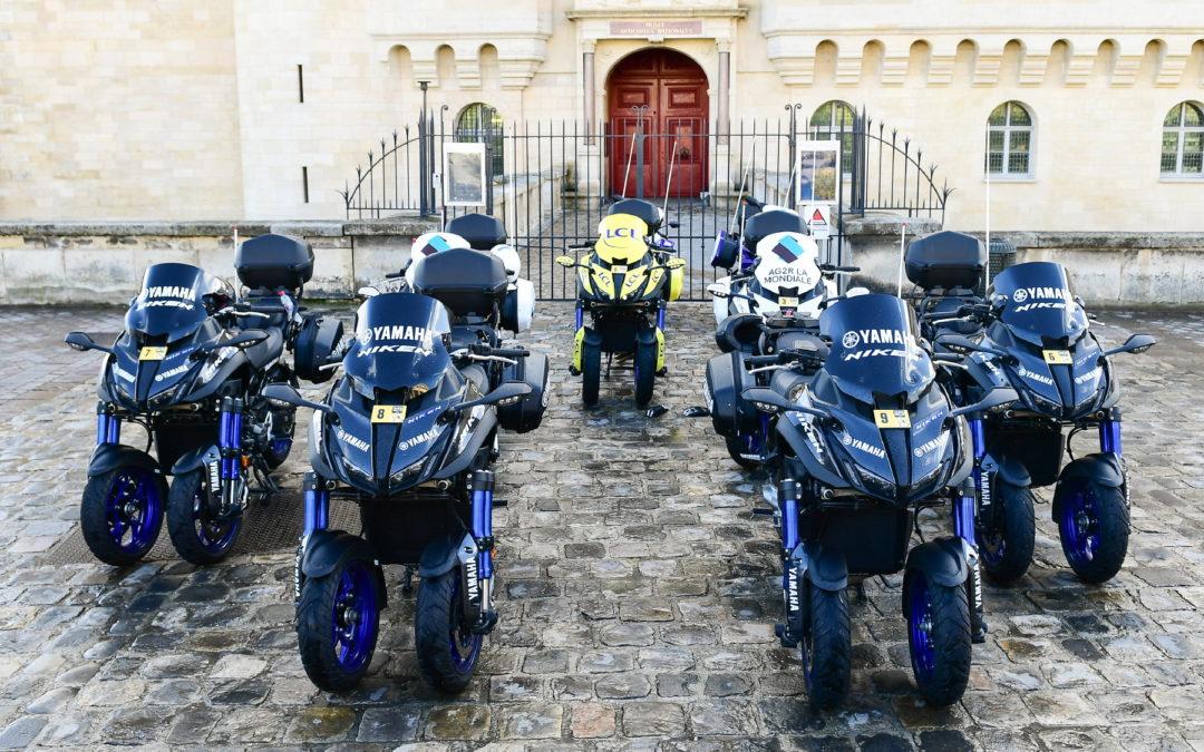 Yamaha partenaire du Tour de France, du Giro d'Italia et de La Vuelta